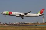 つみネコ♯2さんが、リスボン・ウンベルト・デルガード空港で撮影したTAP ポルトガル航空 A340-312の航空フォト(写真)