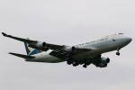 こだしさんが、成田国際空港で撮影したキャセイパシフィック航空 747-467F/ER/SCDの航空フォト(写真)