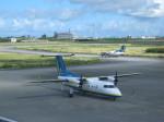 ss5さんが、那覇空港で撮影した琉球エアーコミューター DHC-8-103Q Dash 8の航空フォト(写真)