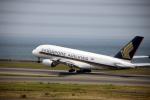ss5さんが、中部国際空港で撮影したシンガポール航空 A380-841の航空フォト(写真)
