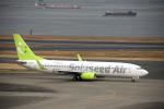 ss5さんが、羽田空港で撮影したソラシド エア 737-86Nの航空フォト(写真)