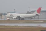 マスターMさんが、那覇空港で撮影した日本航空 747-446Dの航空フォト(写真)