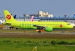 あしゅーさんが、成田国際空港で撮影したS7航空 A320-214の航空フォト(写真)