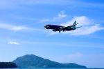 まいけるさんが、プーケット国際空港で撮影したノックエア 737-85Pの航空フォト(写真)