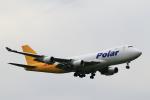 こだしさんが、成田国際空港で撮影したポーラーエアカーゴ 747-46NF/SCDの航空フォト(写真)
