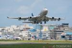 遠森一郎さんが、福岡空港で撮影したチャイナエアライン 747-409の航空フォト(写真)