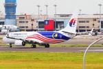 KIMISTONERさんが、台湾桃園国際空港で撮影したマレーシア航空 737-8H6の航空フォト(写真)