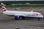 matatabiさんが、成田国際空港で撮影したブリティッシュ・エアウェイズ 787-9の航空フォト(写真)