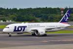 matatabiさんが、成田国際空港で撮影したLOTポーランド航空 787-8 Dreamlinerの航空フォト(写真)