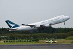 matatabiさんが、成田国際空港で撮影したキャセイパシフィック航空 747-467F/ER/SCDの航空フォト(写真)