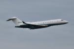 matatabiさんが、成田国際空港で撮影したピナクル航空 BD-700-1A11 Global 5000の航空フォト(写真)
