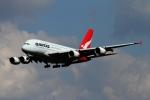 twining07さんが、ロンドン・ヒースロー空港で撮影したカンタス航空 A380-842の航空フォト(写真)