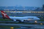 msrwさんが、羽田空港で撮影したカンタス航空 747-438/ERの航空フォト(写真)