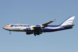 RCH8607さんが、横田基地で撮影したナショナル・エア・カーゴ 747-428(BCF)の航空フォト(写真)