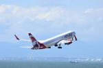 ひこ☆さんが、中部国際空港で撮影したエア・カナダ・ルージュ 767-36N/ERの航空フォト(写真)