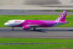 PASSENGERさんが、羽田空港で撮影したピーチ A320-214の航空フォト(写真)