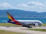 goshiさんが、関西国際空港で撮影したアシアナ航空 A380-841の航空フォト(写真)