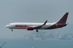 ぎんじろーさんが、香港国際空港で撮影したマリンド・エア 737-8GPの航空フォト(写真)