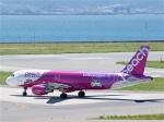 goshiさんが、関西国際空港で撮影したピーチ A320-214の航空フォト(写真)