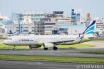 遠森一郎さんが、福岡空港で撮影したエアプサン A321-231の航空フォト(写真)