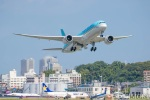 遠森一郎さんが、福岡空港で撮影した大韓航空 787-9の航空フォト(写真)