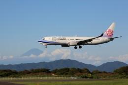 トールさんが、静岡空港で撮影したチャイナエアライン 737-8SHの航空フォト(写真)