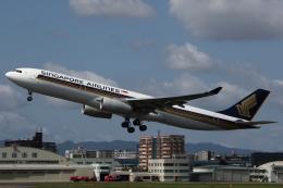 MOHICANさんが、福岡空港で撮影したシンガポール航空 A330-343Xの航空フォト(写真)