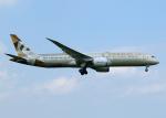 tuckerさんが、成田国際空港で撮影したエティハド航空 787-9の航空フォト(写真)