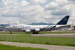 sg-driverさんが、福岡空港で撮影したチャイナエアライン 747-409の航空フォト(写真)