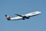 じゃまちゃんさんが、羽田空港で撮影したルフトハンザドイツ航空 747-830の航空フォト(写真)