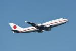 じゃまちゃんさんが、羽田空港で撮影した航空自衛隊 747-47Cの航空フォト(写真)