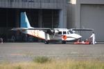 立山一郎さんが、新潟空港で撮影した旭伸航空 BN-2B-20 Islanderの航空フォト(写真)