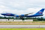 pinamaさんが、小松空港で撮影したシルクウェイ・ウェスト・エアラインズ 747-83QFの航空フォト(写真)