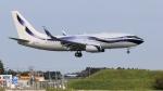 raichanさんが、成田国際空港で撮影したGama アビエーション 737-7GV BBJの航空フォト(写真)