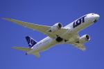☆ライダーさんが、成田国際空港で撮影したLOTポーランド航空 787-8 Dreamlinerの航空フォト(写真)