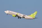 安芸あすかさんが、羽田空港で撮影したソラシド エア 737-81Dの航空フォト(写真)