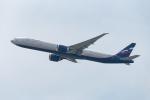 ぎんじろーさんが、香港国際空港で撮影したアエロフロート・ロシア航空 777-3M0/ERの航空フォト(写真)