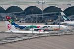 ぎんじろーさんが、香港国際空港で撮影した南アフリカ航空 A340-313Xの航空フォト(写真)