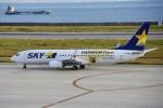 kurubouzuさんが、神戸空港で撮影したスカイマーク 737-86Nの航空フォト(写真)