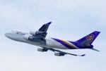 CB20さんが、関西国際空港で撮影したタイ国際航空 747-4D7の航空フォト(写真)