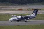 castlepeak37さんが、新千歳空港で撮影したオーロラ DHC-8-200Q Dash 8の航空フォト(写真)