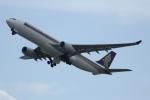 いっとくさんが、関西国際空港で撮影したシンガポール航空 A330-343Xの航空フォト(写真)