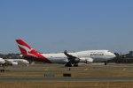 しかばねさんが、シドニー国際空港で撮影したカンタス航空 747-48Eの航空フォト(写真)