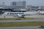 いっとくさんが、関西国際空港で撮影したフィンエアー A350-941XWBの航空フォト(写真)