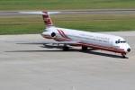もぐ3さんが、新潟空港で撮影した遠東航空 MD-83 (DC-9-83)の航空フォト(写真)
