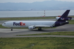 いっとくさんが、関西国際空港で撮影したフェデックス・エクスプレス MD-11Fの航空フォト(写真)