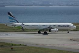 いっとくさんが、関西国際空港で撮影したエアプサン A321-231の航空フォト(写真)
