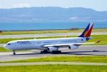 CB20さんが、関西国際空港で撮影したフィリピン航空 A340-313の航空フォト(写真)