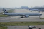 いっとくさんが、関西国際空港で撮影したキャセイパシフィック航空 777-367/ERの航空フォト(写真)