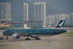 JA8037さんが、香港国際空港で撮影したキャセイパシフィック航空 777-367/ERの航空フォト(写真)